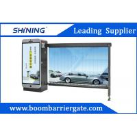 Outdoor 5S Opening Time Automatic Boom Barrier Waterproof For Advertising Manufactures
