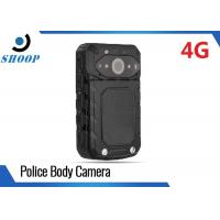 LTE 3G / 4G Wireless Police Body Cameras For Law Enforcement GPS 32GB 3200mAh Manufactures