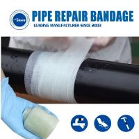 Armored Cast Bandage Emergency Pipe Crack leaking Fix repair wrap  water activated fiberglass tape Manufactures