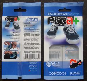 Moisture Proof Resealable Aluminium Foil Bag for Shoe - Pad / Brioche Manufactures