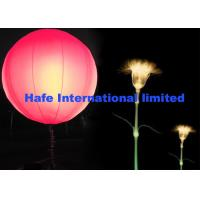 Dimmable Pink Blue RGBW Inflatable LED Light With Durable DMX512 Controler Manufactures