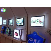 Advertising Led Poster Frame Light Box Acrylic Sheet Lighted Movie Poster Frames Manufactures