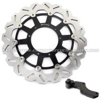 Custom 320mm Wave Floating Motorcycle Brake Discs For motorbike Manufactures