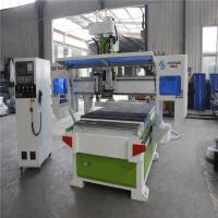 Mdf Cnc Router CNC Wood Cutting Machine With One Boring Group One Head Manufactures