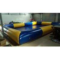 Large 0.9mm PVC Tarpaulin Inflatable Family Pool For Leisure Entertainment Manufactures