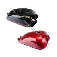 Quality Red / Black Motorcycle Fuel Tank / Gas Tank Cafe Racer Motorcycle Parts for sale