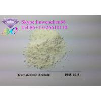 Canada/USA Stock Good quality Testosterone acetate powder Testosterone bodybuilding steroid CAS: 1045-69-8 Manufactures