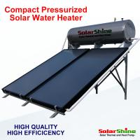 China Automatic Flat Plate Solar Water Heater Directed Thermosyphon Circulation Type on sale