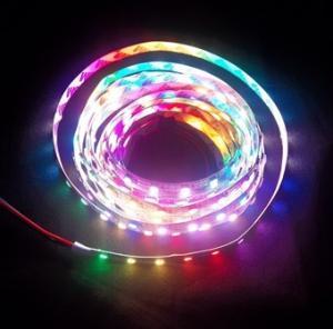 144leds/m SMD5050 pixel RGB digital led strip lights Manufactures