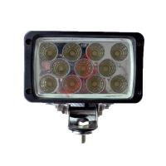 Square 12 Volt 33W 6000K LED Working Light truck LED Driving Light with 11pcs Epsitar LEDs Manufactures