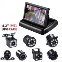 "Easy Operated Backup Camera Monitor 4.3"" TFT ABS Material Type High Durability"