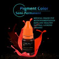 Lip Tattooing Semi Permanent Makeup Ink Magic Wine Red Free Of Iron Oxides Manufactures