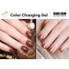 Buy cheap No Layering Thermal Color Changing Nail Polish , Healthy Mood Nail Polish Gel from wholesalers