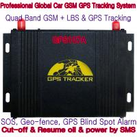 GPS107A Professional Car Safety GPS Vehicle Tracker W/ Cut-off & Resume oil & power by SMS Manufactures