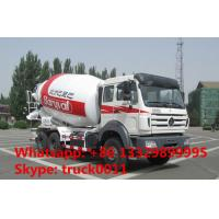 North Benz 340hp 10m3 concrete mixer truck for sale, high quality and best price Beiben 10m3 truck mounted mixer drum Manufactures