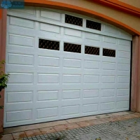 Polycarbonate Sectional Overhead Garage Door Anti Corrosion Manufactures