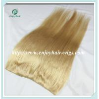 """Flip-in Hair extension 8""""-26"""" 613# color Straight Human Hair Brazilian hair extension Manufactures"""