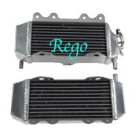 4 Rows Aluminum Motorcycle Race Radiators High Performance Air Tightness Tested Manufactures