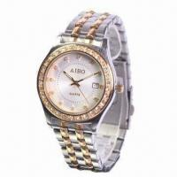 Metal Watches with Stainless Steel Material, Charming, Luxury, Quartz and Fashionable Type Manufactures