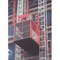 Durable Single Cage Standard Construction Hoist With Loading 1000kg Manufactures