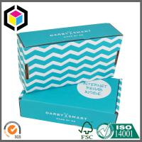 Single Pantone Color Custom Printing Corrugated Shipping Carton Box for Mailing Manufactures