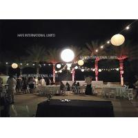 Pearl 130 CM Tripod Event Space Lighting Moon Balloon 110V With 2000W Halogen Lamp Manufactures