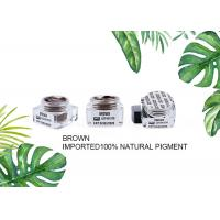30g Browm Eyebrow Tattoo Pigment Natural Paste Ink Microblading Pigments Manufactures