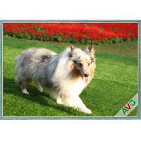 UV Resistant Dog Pet Artificial Turf / Synthetic Grass Eco Friendly Installation Manufactures