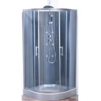 Professional Quadrant Round Corner Shower Enclosure SGS ISO9001 Certification Manufactures