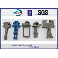 Casting Iron with Clip Railway Fastening System accessories Rail Shoulder Manufactures