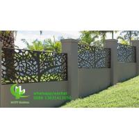 Perforated  Laser Cut Aluminium Panels  Fence Decoration  Commercial Wall Cladding Manufactures