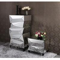 Quality Fashionable Mirror Furniture Set Decorative Full Flower Mirror Stand for sale