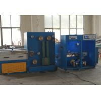 Copper Customized Wire Drawing Machine , Wire Drawing Machine With Automatic Double Spooler Manufactures