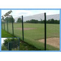 PVC Coated 3d Curved Metal Fence panel Heavy Duty Metal Mesh Fencing High Tensile Manufactures