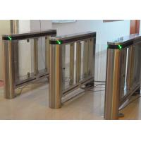 High Security Supermarket Swing Gate Waterproof With Acrylic Gate Manufactures