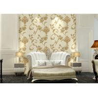 European Style Italian Vinyl Wallpaper Wall Coverings Indoor Decoration