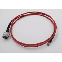 Test Application RF Cable Assembly N Connecotr To SMA Semi Flex Cable Manufactures