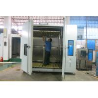 Vehicle Drive-In Test Chamber Climatic Walk In Test Room , Stability Testing Chambers Manufactures