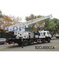 Truck mounted water well drilling rig drill water wells up to 600m Manufactures