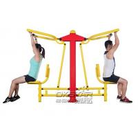 China good quality cheap Outdoor Fitness Equipments with TUV certificates EN16630 pull down chair Manufactures