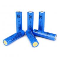 Quality 3.7V 2600mAh 18650 lithium ion cylindrical rechargeable battery for torch / head lamp ICR18650 for sale