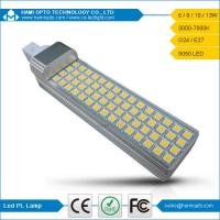 Interior Lighting 13W 5050 SMD G24 LED Light Bulb, 120 Degree View Angle CE RoHs Approval Manufactures