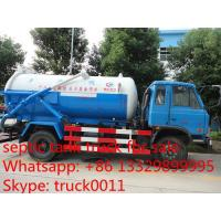 Economic classical high capacity sewage suction truck, dongfeng brand cheapest price vacuum sewage suction truck Manufactures