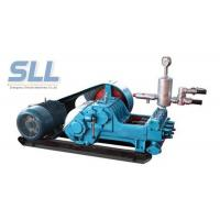Railway Electric Mud Slurry Pump For Grout Cement Paste Adjustable Flow Manufactures