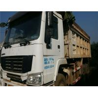Used 371HP HOWO 10 Wheels Dump Truck Tipper 6X4 with Good Condition for Africa Manufactures