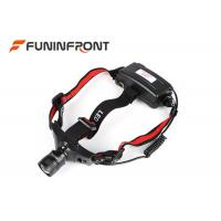 500LMs Adjustable Focus Outdoor LED Headlamp Bicycle Headlight Using AAA Battery Manufactures