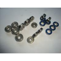 Quality High Speed Miniature Precision Ball Bearings 607 Zz 2rs 7x19x6 Mm , Stainless Steel for sale