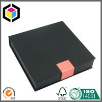 Custom Black Color Cardboard Gift Box; Jewellery Gift Paper Box, Jewellery Cases Manufactures