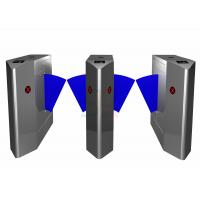 Security Outdoor Flap Barrier Gate, Turnstile Entry Systems Subway Manufactures
