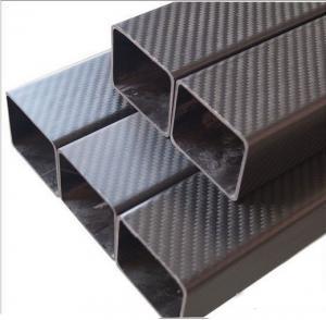3K carbon fiber square tube Manufactures